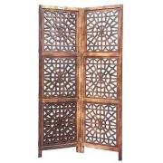 Shilpi Wooden Partition (Mango Wood)/ Room Divider/Screen