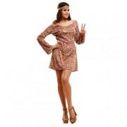 Viving Costumes S.L Disfraz Adulto - Hippie Psicodélica M-L