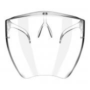 Polykarbonátová ochranná maska na tvár s úchytom na nos