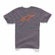 Alpinestars T-Shirt - Orange/Grå - Alpinestars - Small