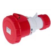 EC ELETTROCANALI Presa ip67 16a 2p+t 380v rosso ec69083
