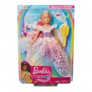 Barbie Muñeca Barbie Mattel Princesa Vestido Brillante