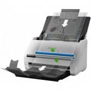 Pachet Scanner Epson DS-530, dimensiune A4, tip sheetfed, 600x600dpi - B11B226401 + Suport magnetic Tellur MCM3 pentru ventilatie, plastic, Negru