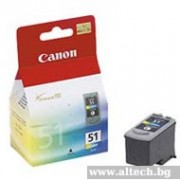 CANON CL-51 Color InkJet Cartridge (BS0618B001AA)