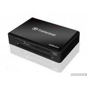 CARD READER, Transcend TS-RDF8K, All-in-1, USB3.0, Black (TS-RDF8K)