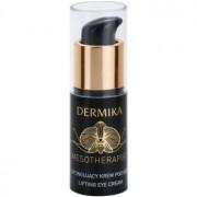 Dermika Mesotherapist crema para contorno de ojos con efecto lifting para pieles maduras (With New Generation Hyaluronic Acid and Black Orchid) 15 ml