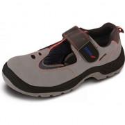 Sandale de protectie D2, din piele, marime: 47, cat.S1 SRC