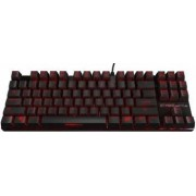 Tastatura Gaming Mecanica Ozone Strike Battle Red LED Cherry MX Brown Layout US