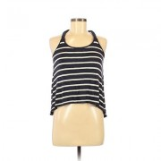 Ocean Drive Clothing Co. Tank Top Blue Stripes Scoop Neck Tops - Used - Size Small