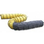 Master Flexibilis, PVC-vel burkolt tömlő, fémbetéttel 7,6m/610mm