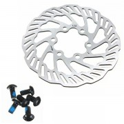 Meco Cycling Bicycle Bike Brake Disc Rotors 120mm/140mm/160mm/180mm/203mm With Bolts