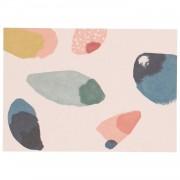 Dille&Kamille Carte, papier végétal, ailes de couleur, 14,8 x 10,5 cm