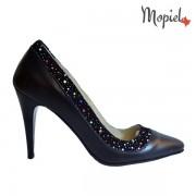 Pantofi dama din piele naturala 24430/negru/Crina