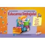 Educarea limbajului caiet grupa mijlocie - Anca Camelia Vodita Silvia Borteanu