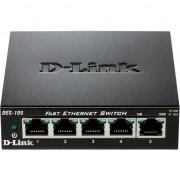 Switch D-Link DES-105, 5 porturi 10/100