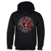 sweat-shirt avec capuche pour hommes Velvet Revolver - Black - HYBRIS - ER-3-VROL001-H11-11-BK