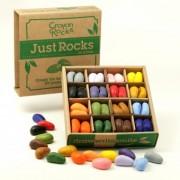 Set copii de 64 creioane cerate Non-Toxice Crayon Rocks