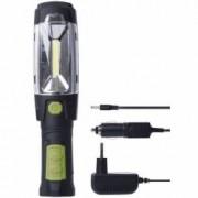 Lanterna atelier plastic magnetica 3W COB LED + 6xLED 5mm 280 lumeni