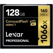 Lexar 1066X 128 GB Compact Flash Class 10 160 MB/s Memory Card