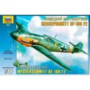 Messerschmitt Bf-109 F2 German Fighter-Zvezda
