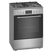 Bosch 60cm Serie 4 Freestanding Dual Fuel Oven/Stove (HXR39KI50A)