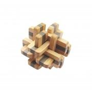 Puzzle Toy Rompecabezas De Madera Bicolor 12 Cerraduras Kong Ming Bloqueo