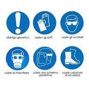 Socepi Adesivi segnaletici per indicazioni ed obblighi vari