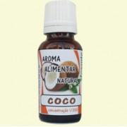 Elegante Aroma Natural de Côco