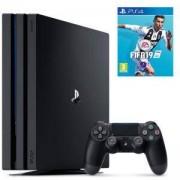 Конзола Playstation 4 PRO, 4K, 1ТВ, Sony PS4 Pro+Игра FIFA 19 за PlayStation 4