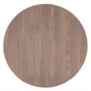 Bolero Round Table Top Vintage Wood 600mm