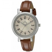 Titan Analog Multi-Colour Dial Women's Watch - NK2554SL01