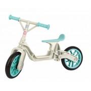 "Bicicleta Copii Polisport Bb, Roti 12"", fara pedale, ergonomica (Gri/Albastru)"