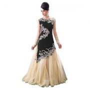 New Designer Black And Beige Colour Velvet Material Wedding Party And Fastival Wear Lehengha choli For Women And Girls