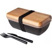 Cosy&Trendy Lunchbox Met Bestek - 18 cm x 9.5 cm