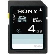 Sony 4 GB SDHC Class 4 Memory Card