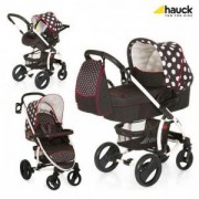 Детска количка Malibu Xl All in One - Dots Black, Hauck, 352394