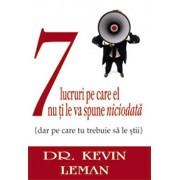 7 lucruri pe care el nu ti le va spune niciodata/Kevin Leman