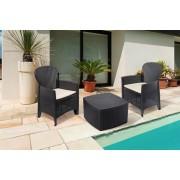 VakantieVeilingen.be 3-delige tuinset met zitkussens van Pro Garden
