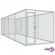 vidaXL Vanjski kavez za pse 760 x 192 x 185 m