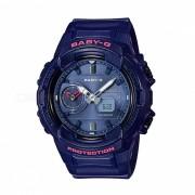 reloj digital analogico estandar casio baby-g BGA-230S-2A - azul marino