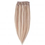 Rapunzel® Extensions Naturali Kit Clip-on Original 3 pezzi M7.3/10.8 Cendre Ash Blonde Mix 40 cm