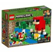 LEGO - 21153 MINECRAFT LA GRANJA DE LANA 260 PZAS.