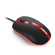 Мишка Sharkoon Shark Force Pro SH0051, оптична(3200dpi), 6 бутона, USB, черно-червена
