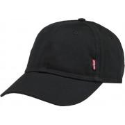 Levi Classic Twill Red Tab Baseball Cap Cap - Maat One size --CONVERTVolwassenenVolwassenen - zwart