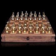 Medieval Warriors Chess Set by Dal Rossi Italy