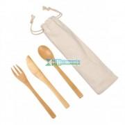 NATURAL TRIP bambusz konyhai evőeszköz készlet