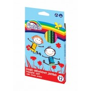 Culori lungi 12 culori Jumbo Fiorello Soft triunghiulare 170-2218