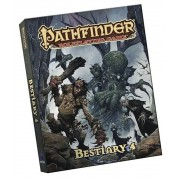 Pathfinder Roleplaying Game: Bestiary 4 Pocket Edition, Paperback