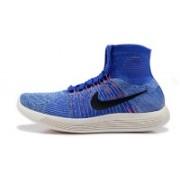 Lunarepic Flyknit long Blue hyper Running Shoes(Blue)