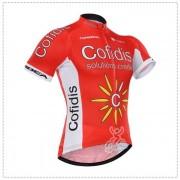 Maillot Ciclista Corto Cofidis